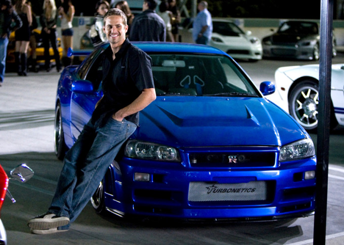 super carro Nissan skyline gt-r de Paul Walker